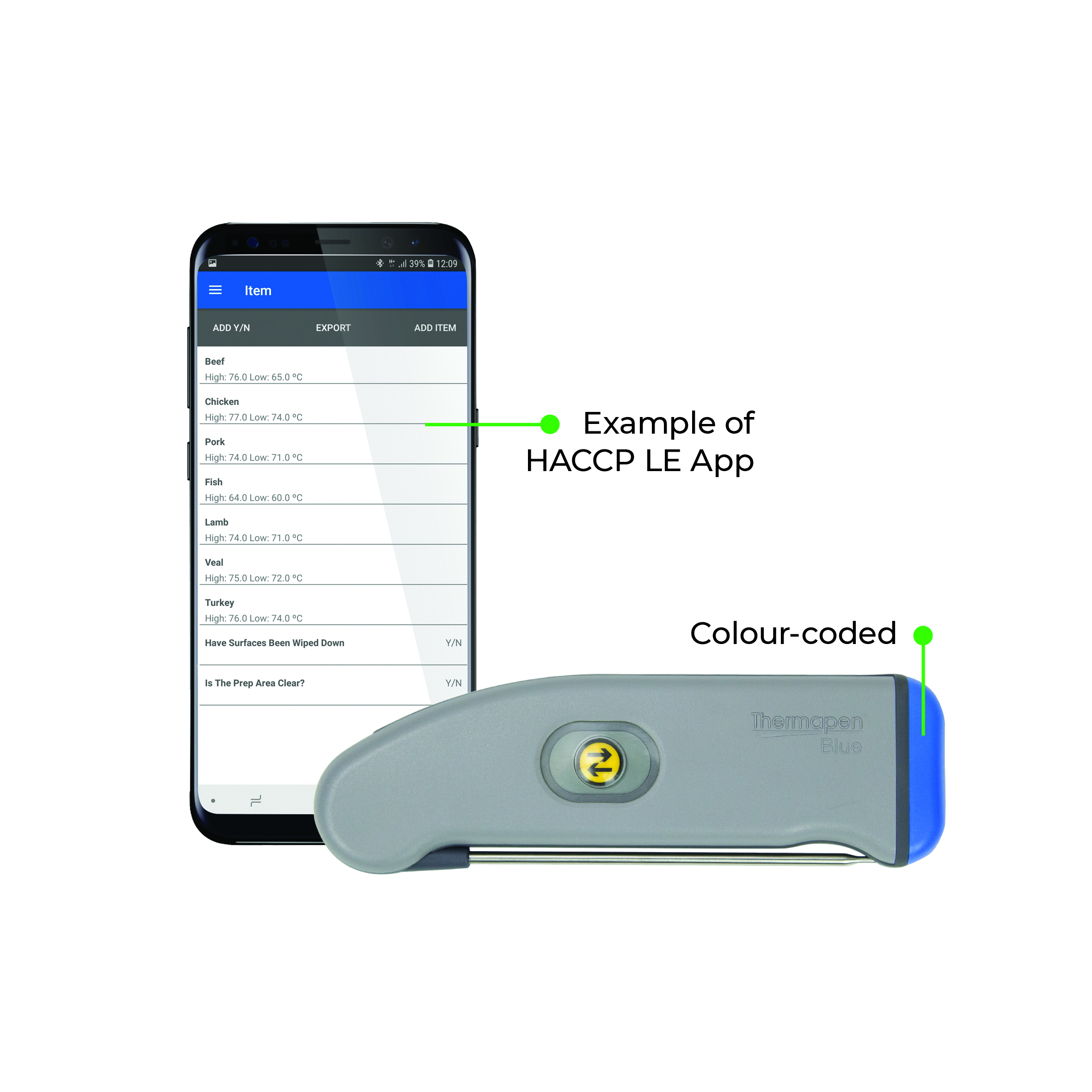 Thermapen Blue, Bluetooth termometer